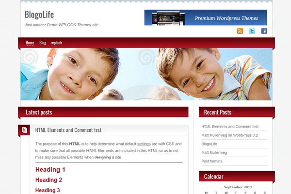 BlogoLife Free WordPress Theme