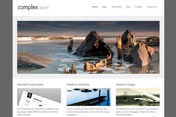 Complex - A Modern WordPress Theme