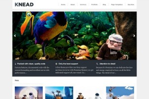 Knead - A Responsive WordPress Theme