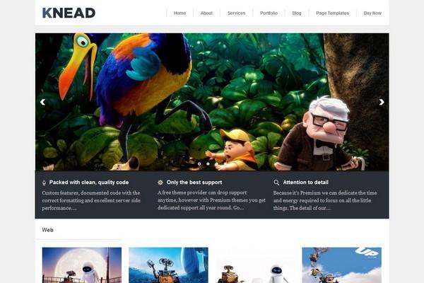 Knead - A Responsive WordPress Theme