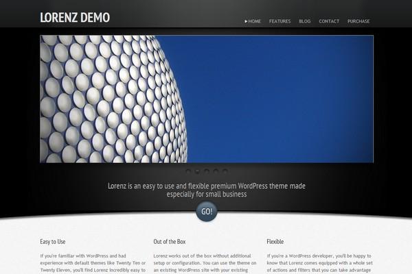 Lorenz - A Business WordPress Theme