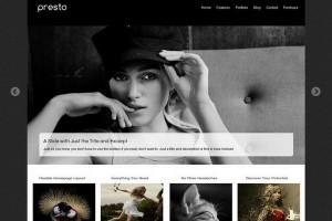 Presto – A Professional WordPress Theme