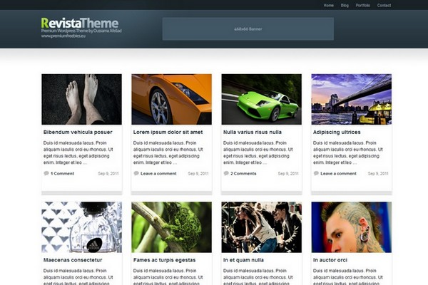 Revista Free WordPress Theme