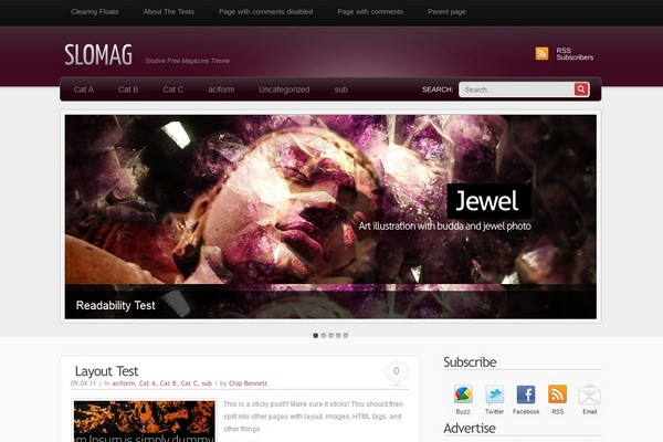 SloMag Free WordPress Theme