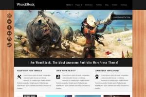 WoodStock - A Creative Portfolio WordPress Theme