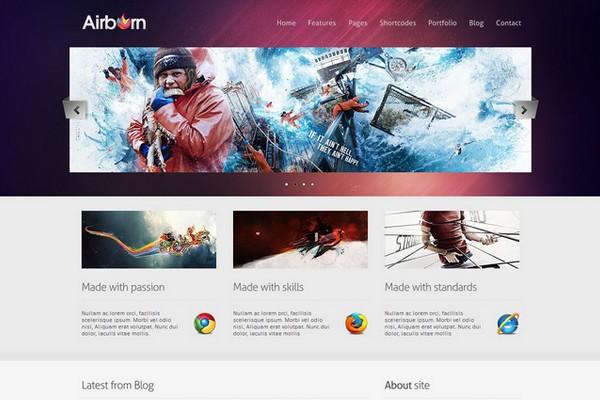 Airborn - A Portfolio & Business WordPress Theme