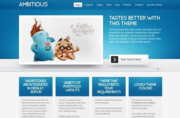 Ambitious WordPress Theme