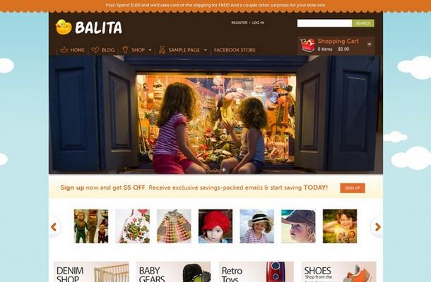 Balita Free WordPress Theme
