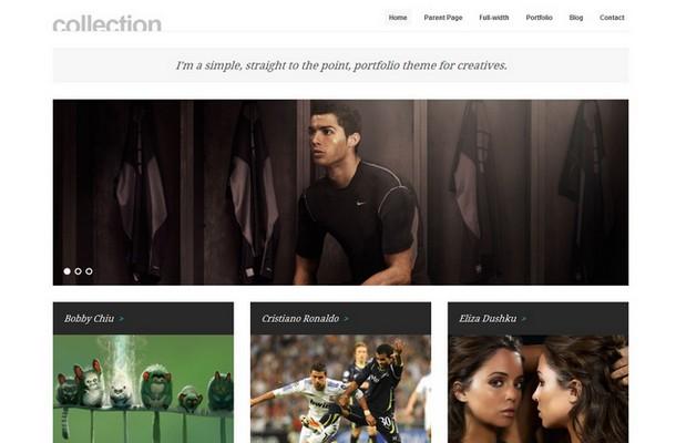 Collection – Minimal WordPress Portfolio Theme