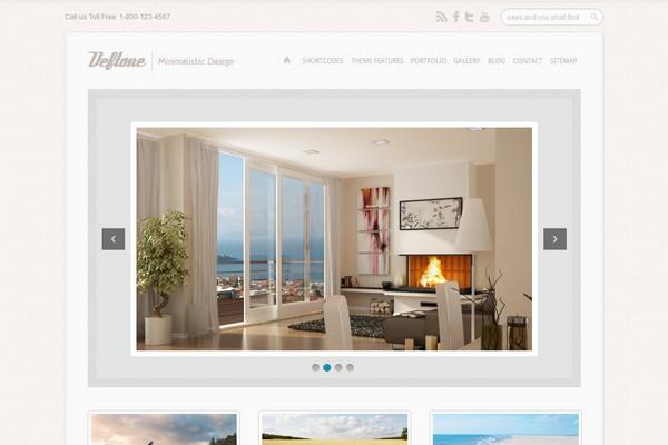 Deftone – A Business & Portfolio WordPress Theme