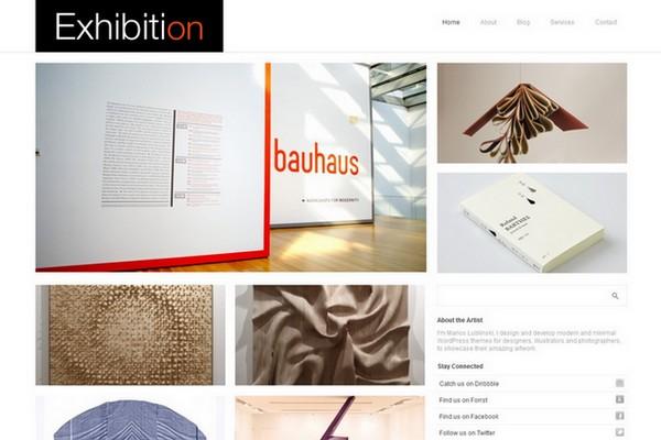 Exhibition Free WordPress Theme