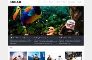 Knead - A responsive Portfolio theme
