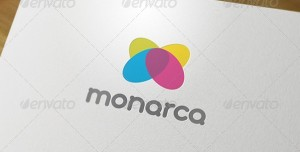 Monarca corporate logo design
