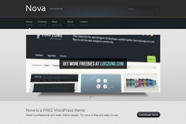 Nova Free WordPress Theme