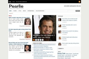 Pearlie Free WordPress Theme