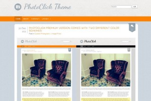 PhotoClick Free WordPress Theme