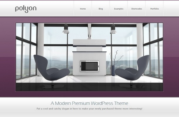 Polyon WordPress Theme