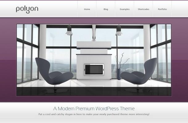 Polyon WordPress Theme