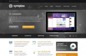 Symplex WodPress Theme