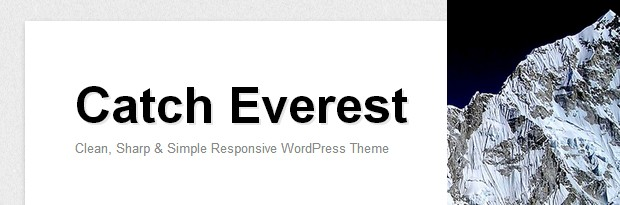 Catch Everest is a responsive free WordPress Theme by Catch Themes