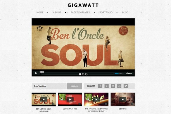 Gigawatt Responsive WordPress Theme