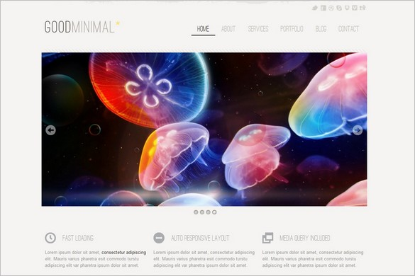 Good Minimal Responsive WordPress Theme
