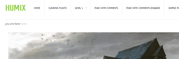 HUMIX is a free WordPress Theme by Theme4Press