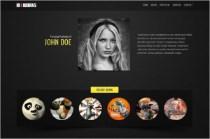 MIWORKS is a one Page WordPress Theme