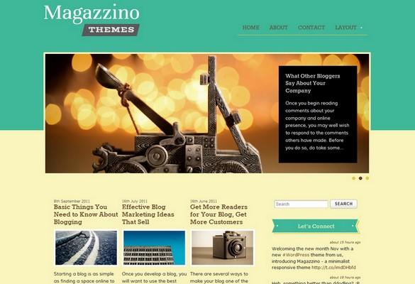 Magazzino Free WordPress Theme