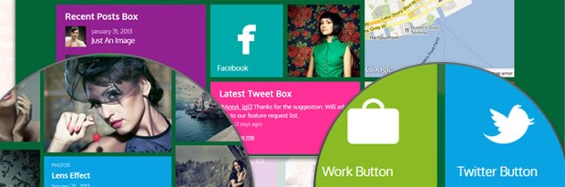 Metro - A Windows 8 Inspired WordPress Theme