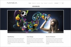 NANICA is a beautiful One Page WordPress Theme