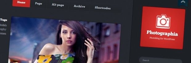 Photographia is a WordPress Theme by cssigniter.com