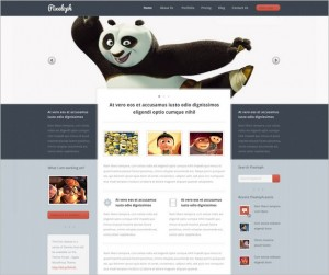 Pixeloph - A WordPress Theme with unique layout