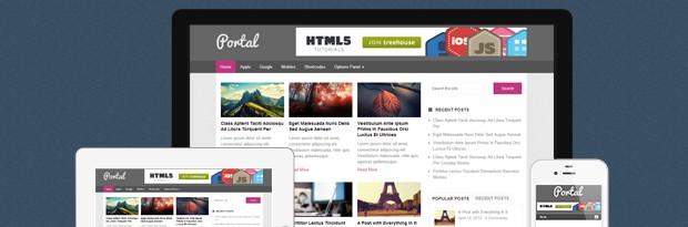 Portal is a free Magazine WordPress Theme by MyThemeShop