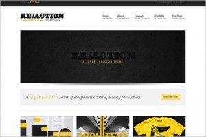 Reaction - A Fully Responsive WordPress