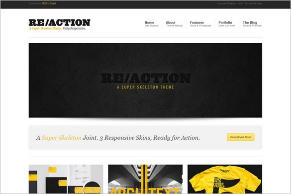 Reaction - A Fully Responsive WordPress