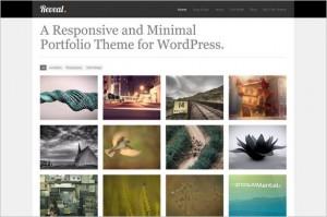 Reveal Responsive Portfolio WordPress Theme