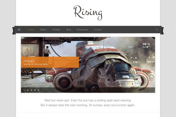 Rising WordPress Theme