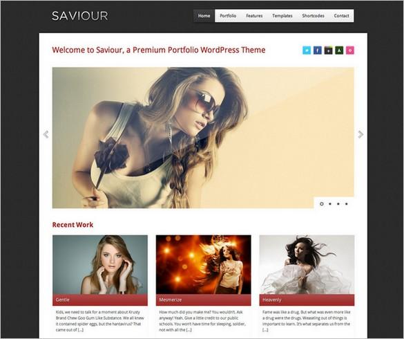 Saviour - A Responsive WordPress Theme