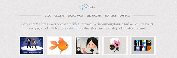 Socialike WordPress Theme