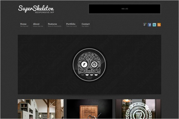 Super Skeleton - A Minimal Responsive WordPress Theme