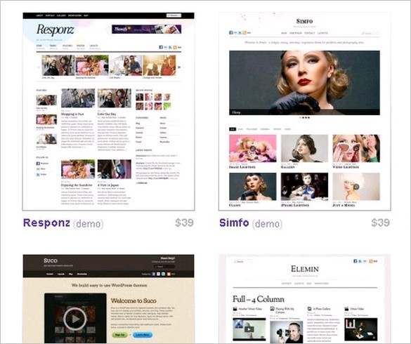 WordPress Themes from Themify