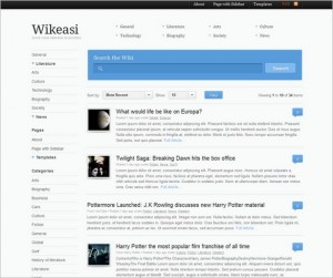 Wikeasi is a WordPress Theme by Woo Themes