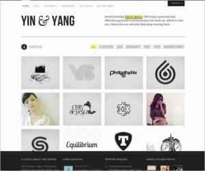 Yin & Yang - A Beautiful Portfolio Theme