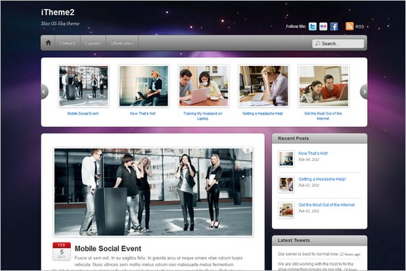 iTheme2 - A Responsive WordPress Theme