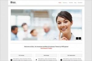 Bizz is a free WordPress Theme by WPExplorer.com