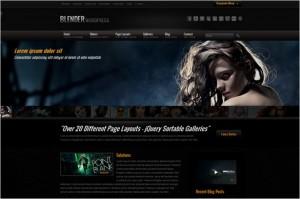 Blender - A WordPress Portfolio Theme