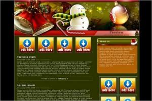 Christmas Holiday is a free WordPress Theme