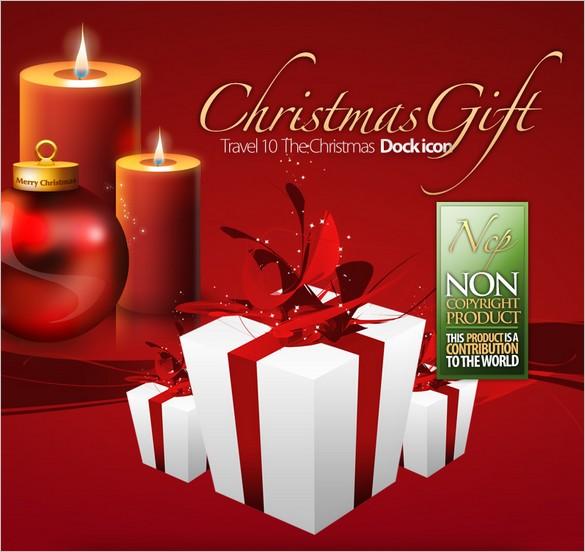A free set of Christmas Dock Icons