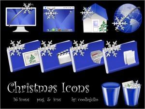 A creative Christmas Icons Set